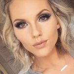 bridesmaid-makeup-smoky-eyes-jessica-lee-via-instagram