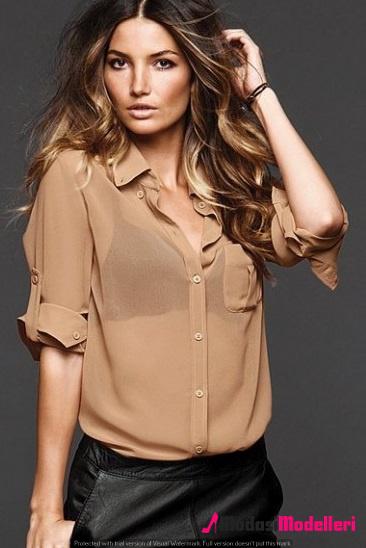 gömlek modelleri 8 - Gömlek Modelleri - Gömlek Modelleri Bayan