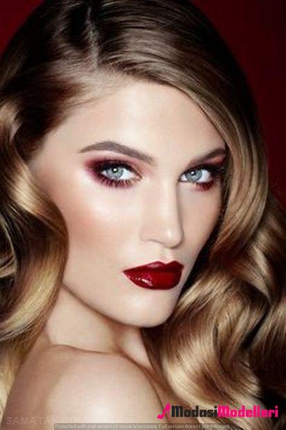nişan makyajı 13 - Nişan Makyajı Ve Nişan Makyaj Modelleri