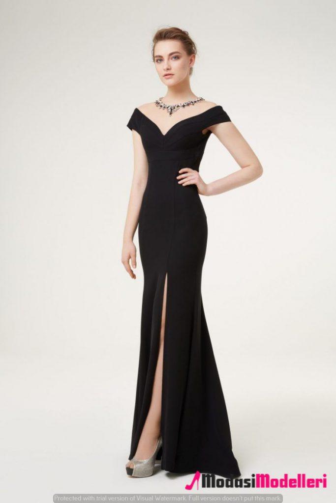 siyah abiye elbise modelleri 1 683x1024 - Siyah Abiye Modelleri ve Modası