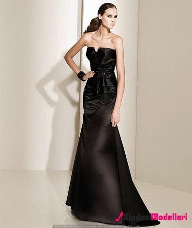 siyah abiye elbise modelleri 29 - Siyah Abiye Modelleri ve Modası