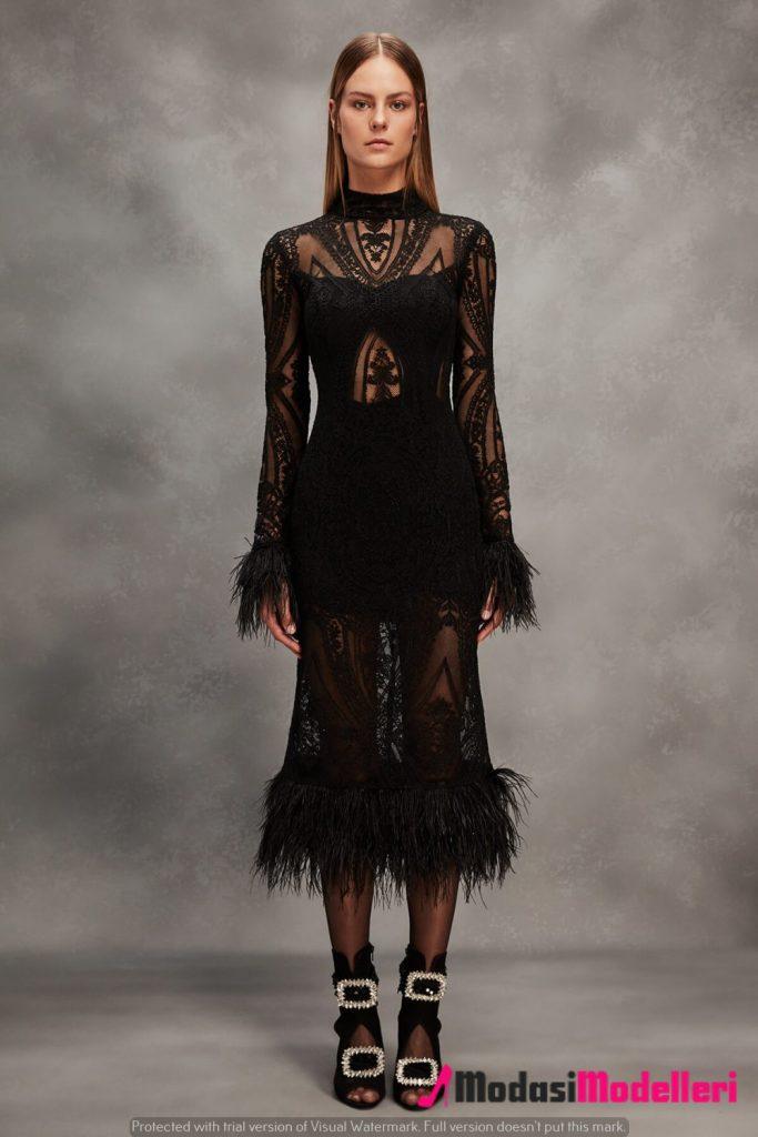 siyah abiye elbise modelleri 8 683x1024 - Siyah Abiye Modelleri ve Modası