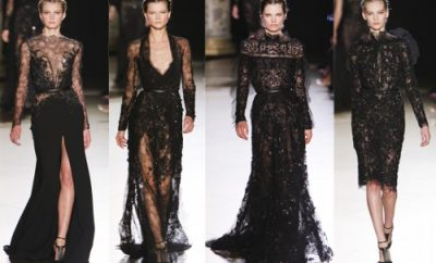 siyah dantelli elbise modelleri 12 400x242 - Dantelli Abiye Modelleri Ve Modası