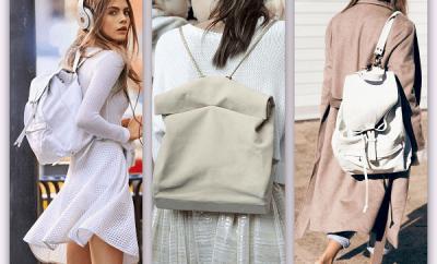 deri kadın sırt çantaları 400x242 - Sırt Çantası Modelleri Ve Trendleri