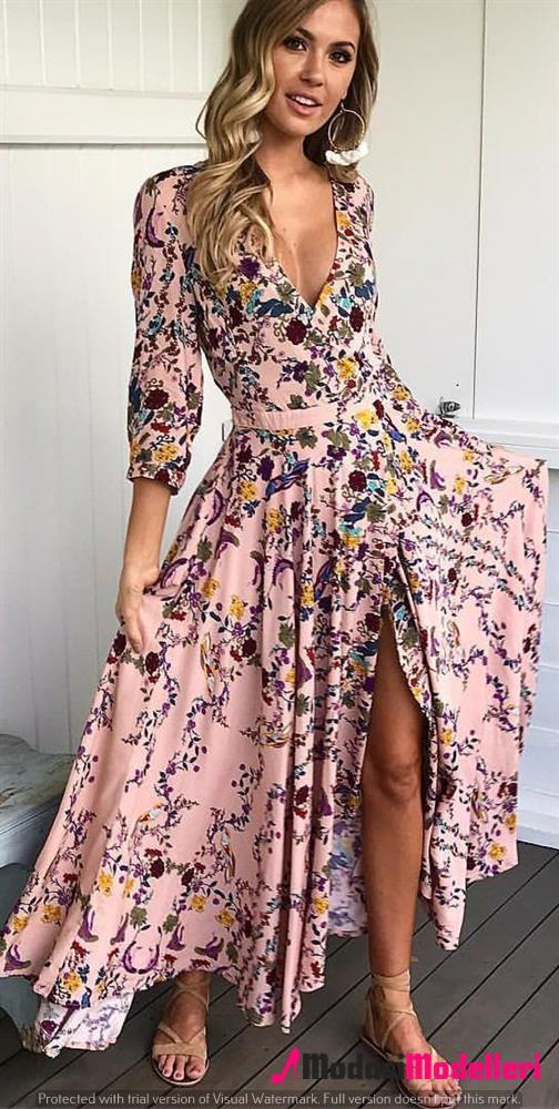 günlük elbise modelleri 2 - Günlük Elbise Modelleri Ve Trendleri