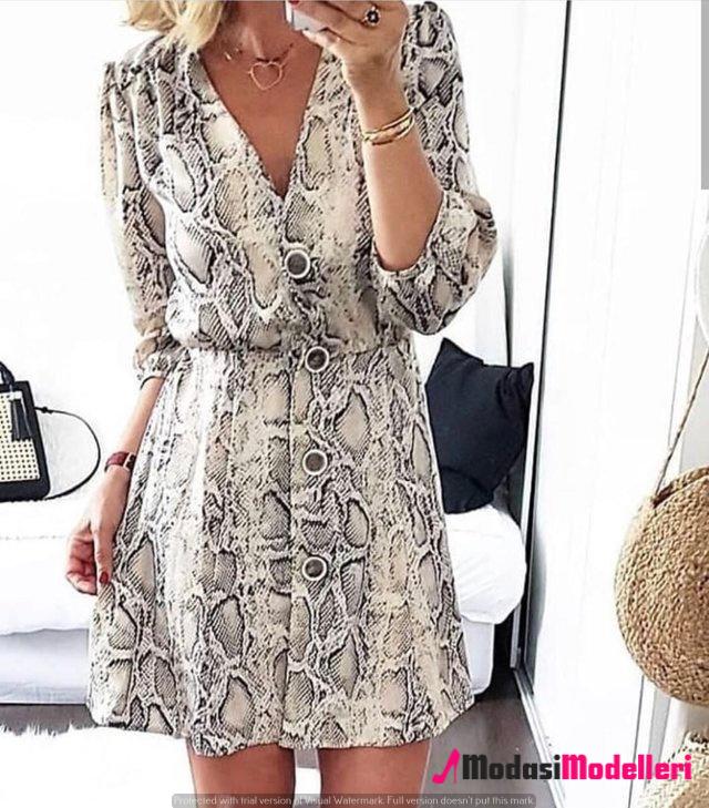 günlük elbise modelleri 5 - Günlük Elbise Modelleri Ve Trendleri