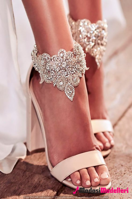 gelin ayakkabısı modelleri 1 - Gelin Ayakkabısı Modelleri Ve Trendleri