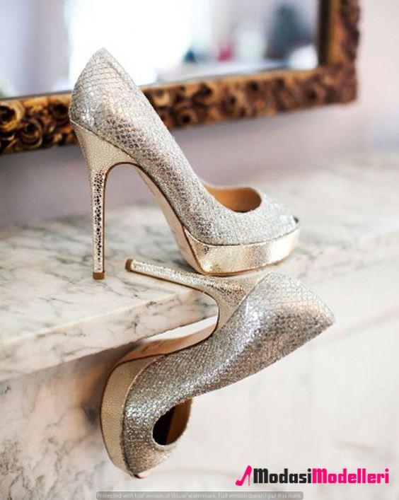 gelin ayakkabısı modelleri 5 - Gelin Ayakkabısı Modelleri Ve Trendleri