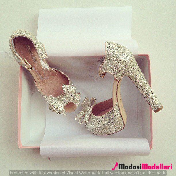 gelin ayakkabısı modelleri 6 - Gelin Ayakkabısı Modelleri Ve Trendleri