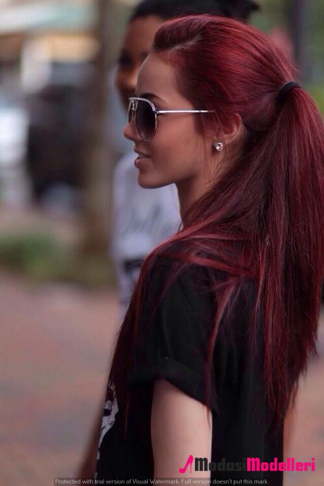 kızıl saç modelleri 2 - Kızıl Saç Modelleri - Trend Modeller