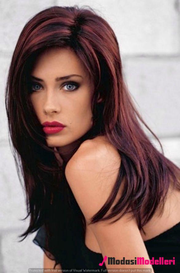kızıl saç modelleri 3 - Kızıl Saç Modelleri - Trend Modeller