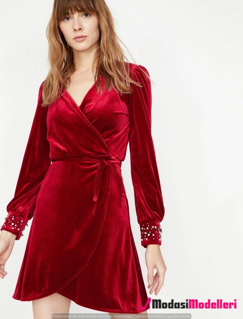 kadife elbise modelleri 2 779x1024 - Kadife Elbise Modelleri - Trendleri
