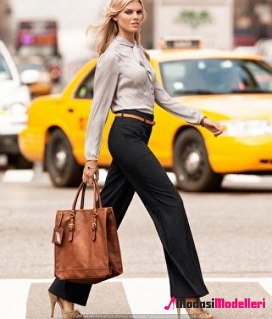kumaş pantolon modelleri 5 - Kumaş Pantolon Modelleri Ve Trendleri