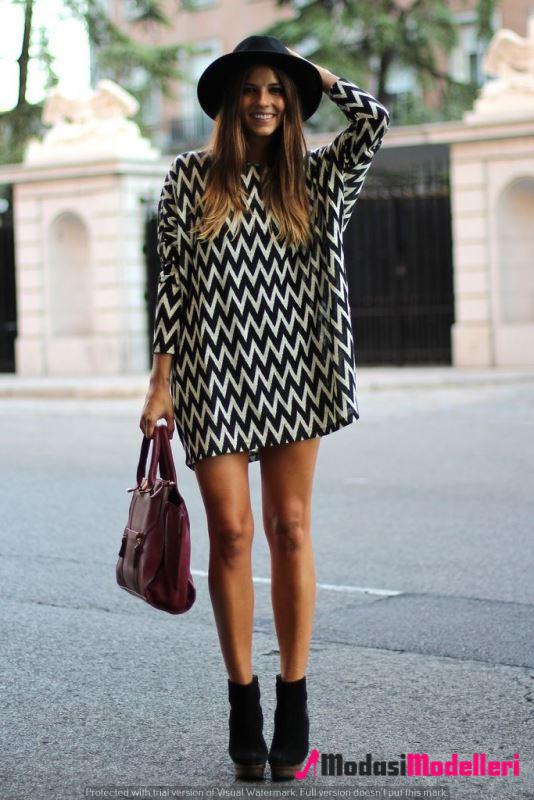 triko elbise modelleri 16 - Triko Elbise Modelleri Ve Modası