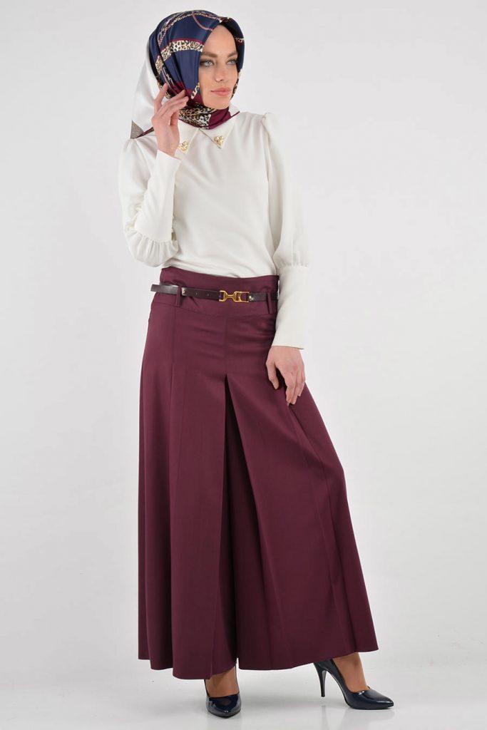 2018 tesettür pantolon etek modelleri 683x1024 - Pantolon Etek Modelleri Ve Modası