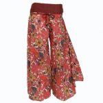Çiçekli-pantolon-etek-modelleri-2014