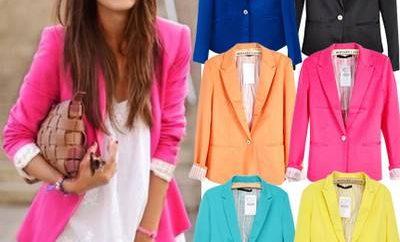 Yazlık Renkli ceket Modelleri yeni 400x242 - Yazlık Ceket Modelleri Bayan Ve Modası