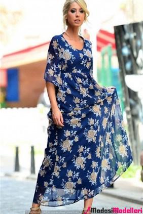 gunluk uzun elbise modelleri 1 - Günlük Uzun Elbise Modelleri Ve Modası