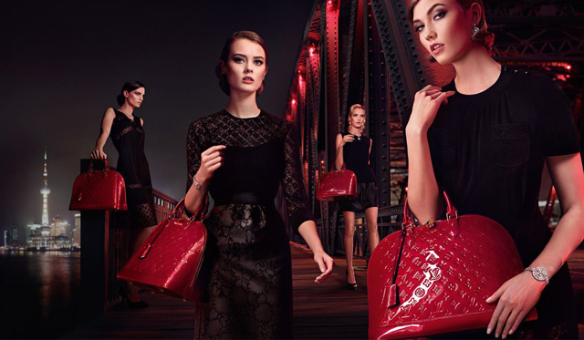 Louis Vuitton Alma Chic on the Bridge Ad Campaign 6 - Koton Çanta Modelleri Ve Modası