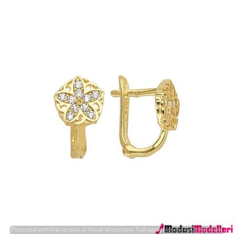 altın kupe modelleri 1 - Altın Küpe Modelleri Ve Modası