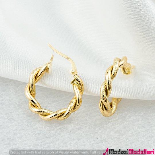 altın kupe modelleri 2 - Altın Küpe Modelleri Ve Modası